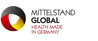Logo: Mittelstand Global - Health made in Germany