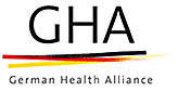 Logo: GHA – German Health Alliance