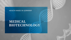 Standbild des Filmes: Medical Biotechnology made in Germany
