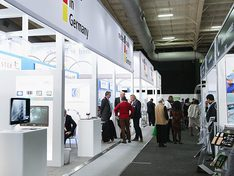 The German Pavilion at Africa Health 2019
