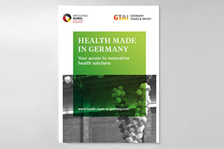 Cover: HEALTH MADE IN GERMANY: Your access to innovative health solutions