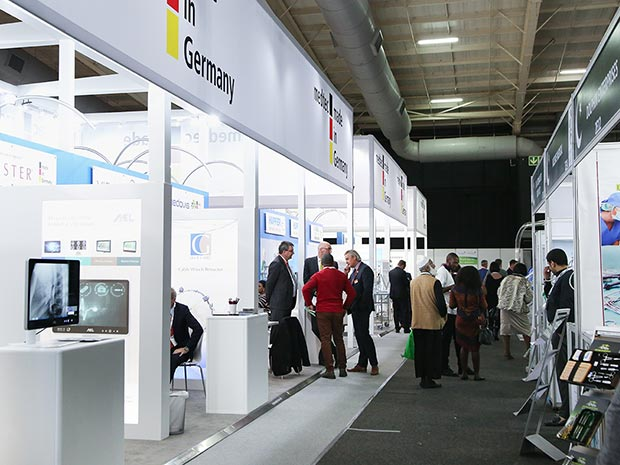 Ready, set, go: The German Pavilion at Africa Health 2019