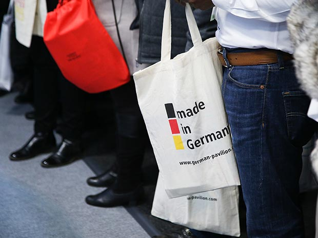 Informational material on German medtech is popular among visitors