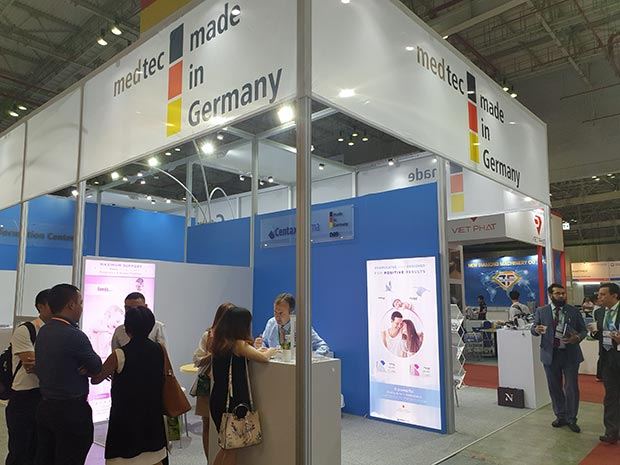 Strong local interest in German products and services