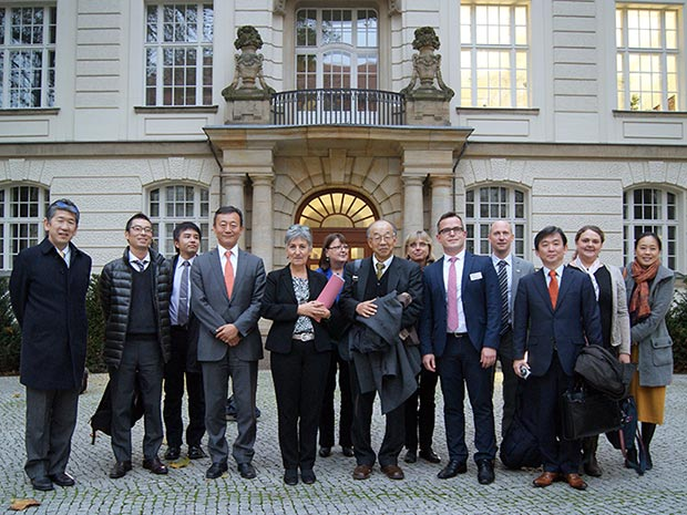 German-Japanese Dialogue kick-off 2017. The Japanese Delegation at the Federal Ministry for Economic Affairs and Energy