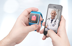 Stethoscope and tablet ; Source: istock.com/alexey_boldin + PeopleImages